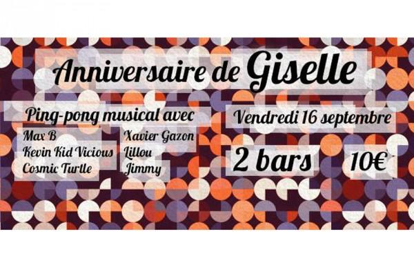 16 septembre 2016 / Anniversaire DJ Giselle