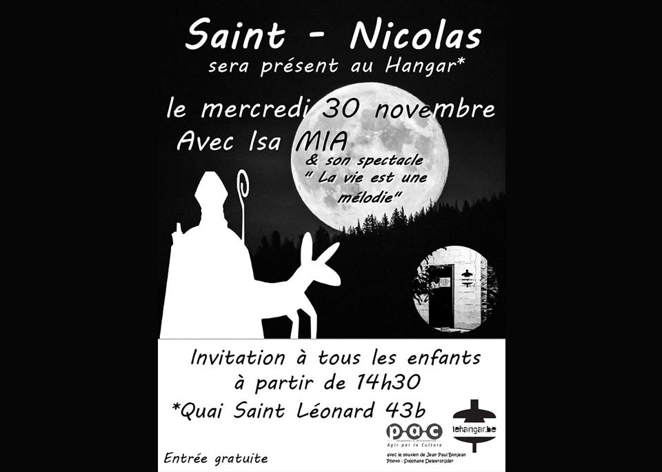 30 novembre / Visite de Saint-Nicolas