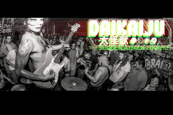 30 décembre / MIZ : Daikaiju vs Pirato Ketchup split release party