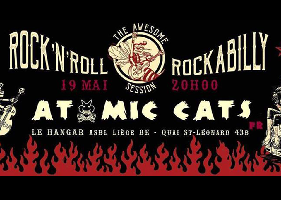 19 mai / Atomic cats – The Awesome Rock'n'roll & Rockabilly Session