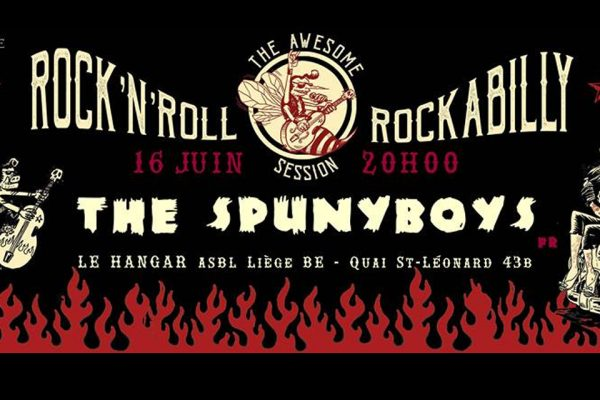 The Spunyboys «The Awesome Rock'n'Roll & Rockabilly Session» / Vendredi 16 Juin