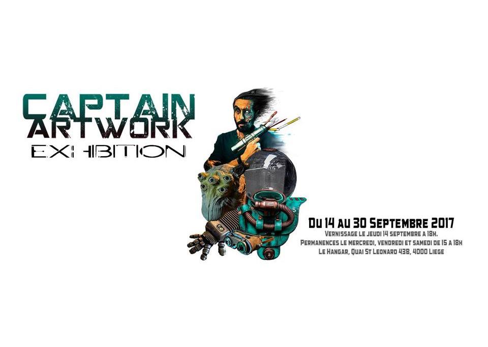 Captain Artwork Exhibition / Du 14 au 30 Septembre