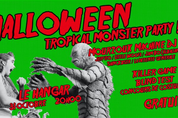 31/10 – HALLOWEEN TROPICAL MONSTER PARTY!!!