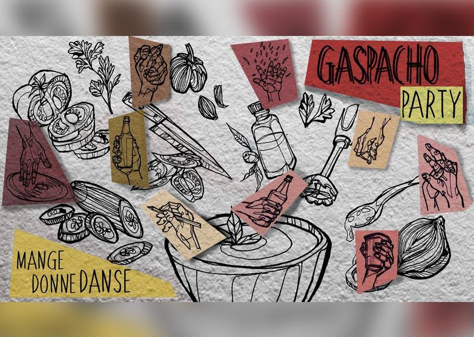 Gaspacho Party #1 Mange, donne, danse / 09/03