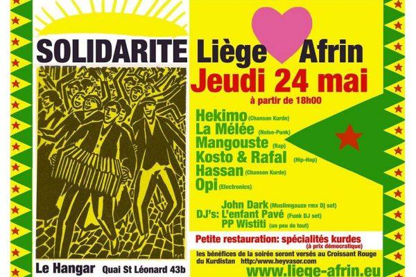 FestivaL de Solidarité avec Afrin – 24/05