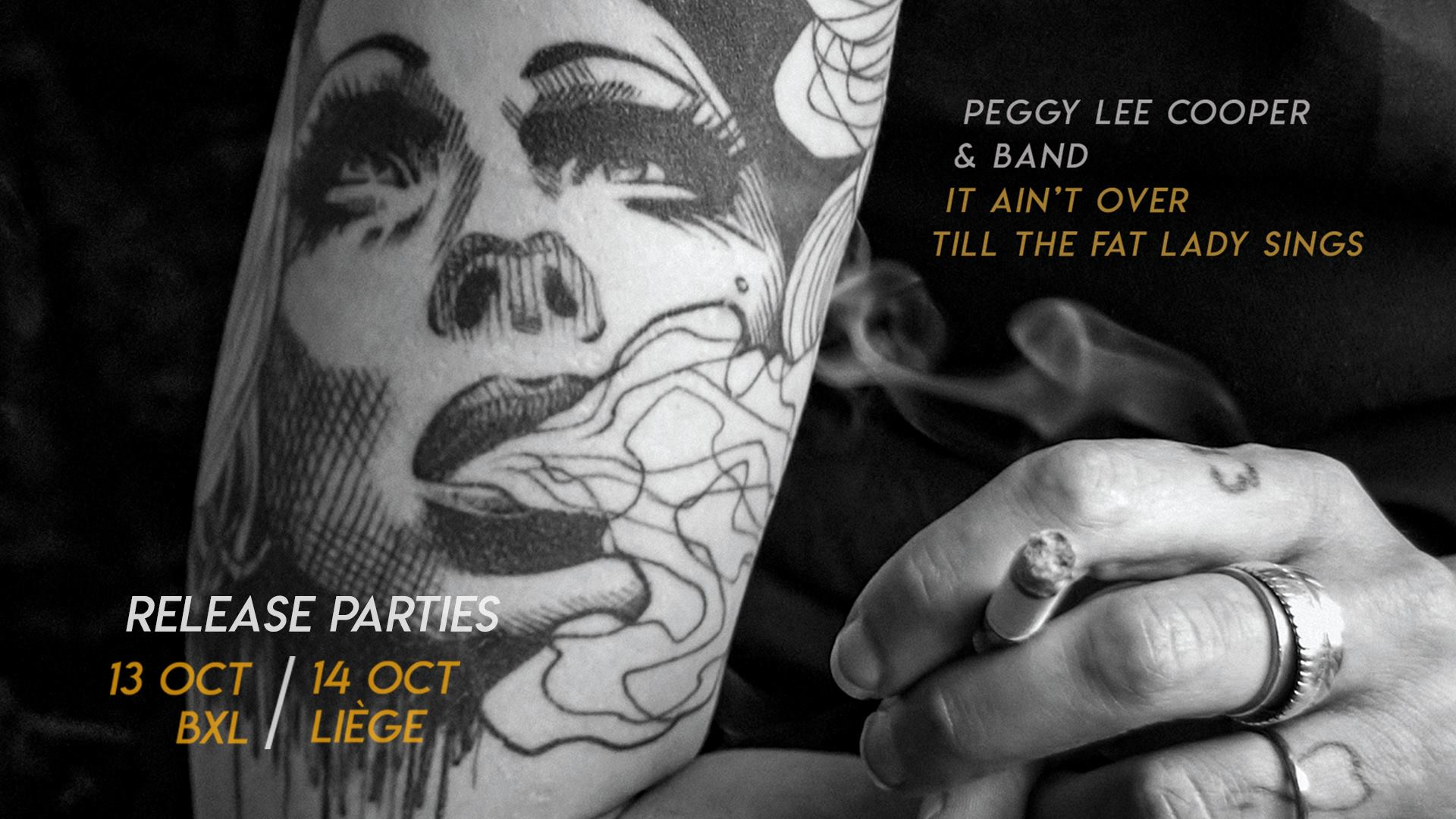 14/10 – Peggy Lee Cooper & Band / Album Release Party