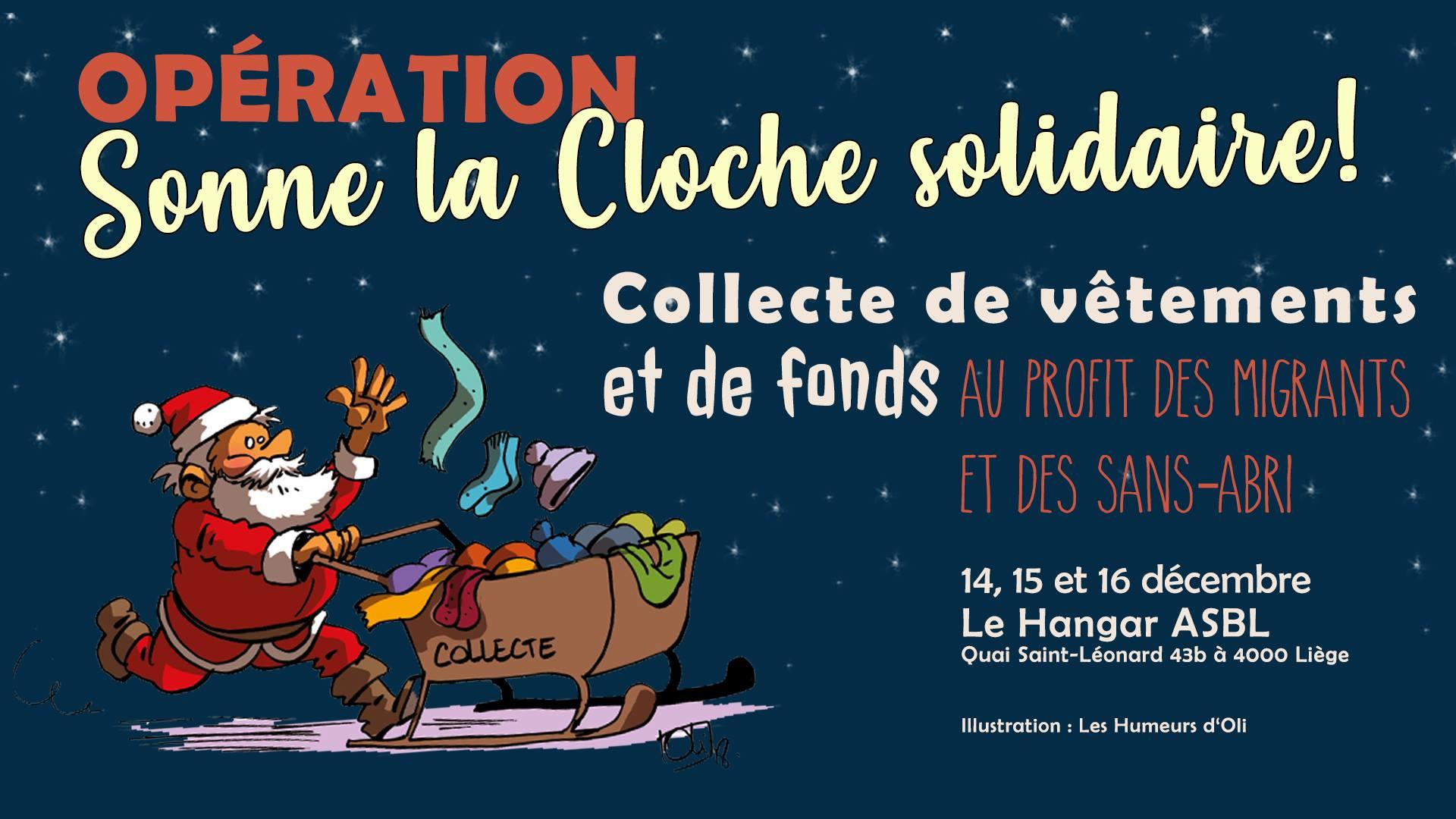 14, 15 et 16 décembre / Opération Sonne la Cloche solidaire!