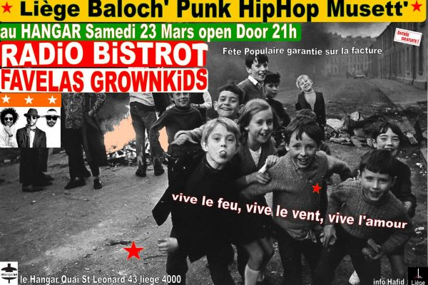 RADiO BiSTROT Bal Hiphop Punk Musett' – 23/03