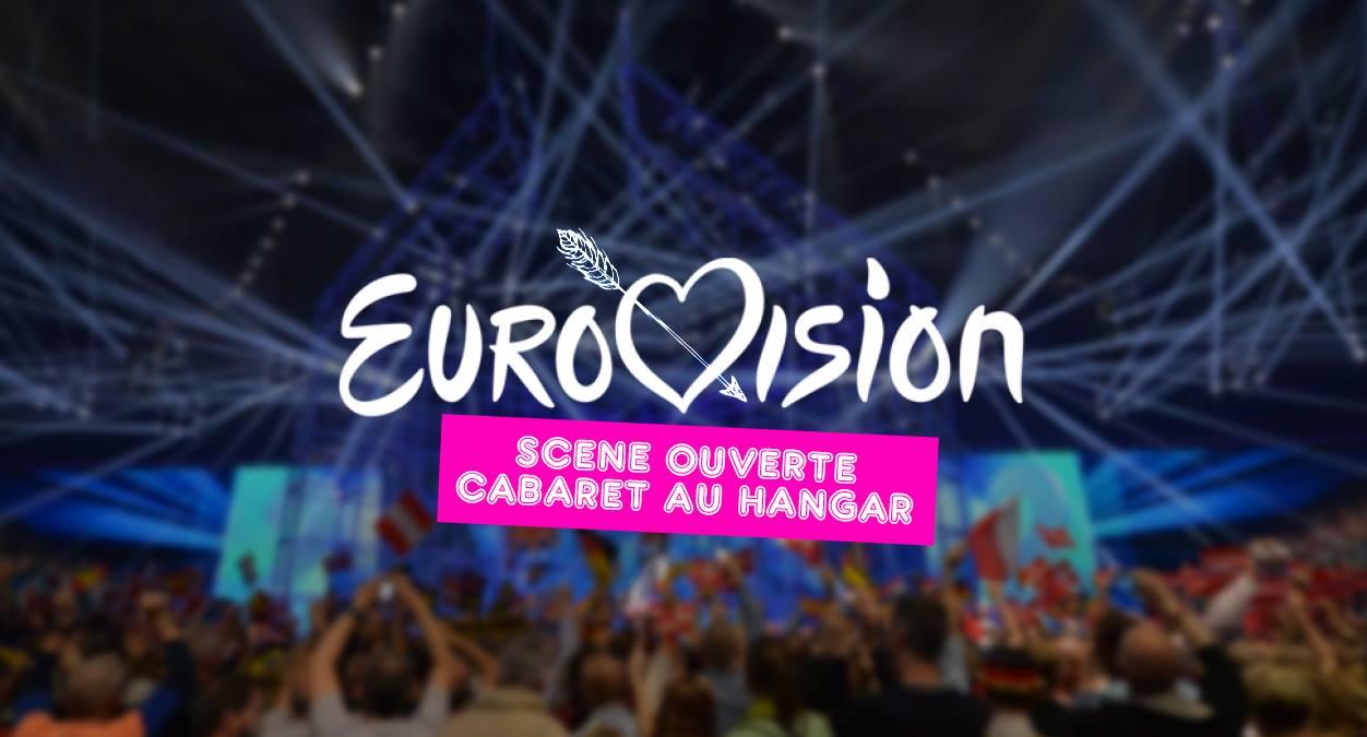 La scène ouverte Cabaret spéciale Eurovision de Peggy Lee Cooper