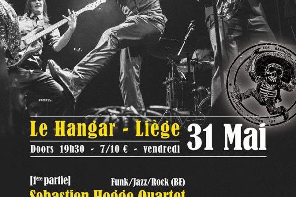 Cut Capers (UK) / Sebastien Hogge Quartet / Bangarang Sound – 31/05