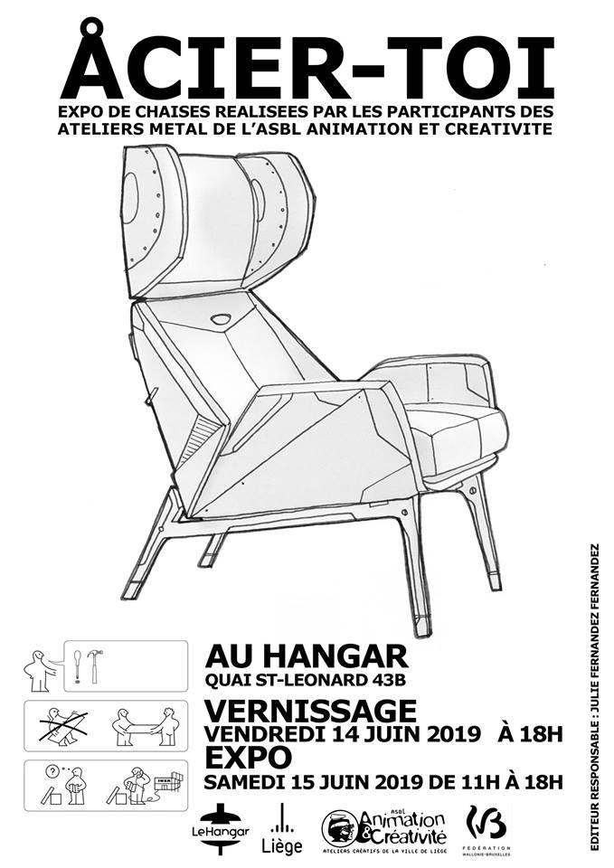 ACIER -TOI Exposition Métal Animation et Créativité asbl – 14/06