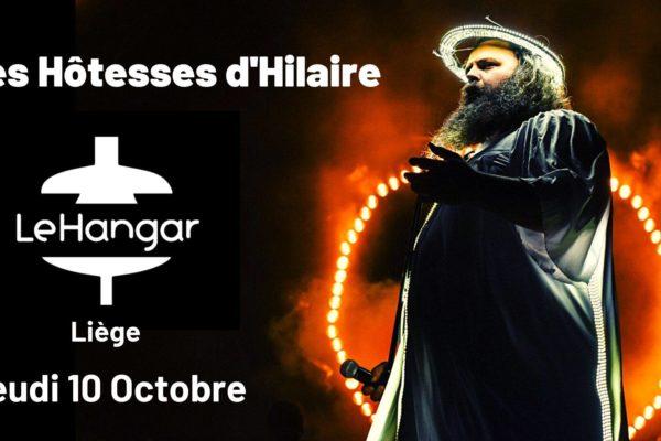 Concert | Les Hôtesses d'Hilaire (CA) / 10 Octobre 20h30
