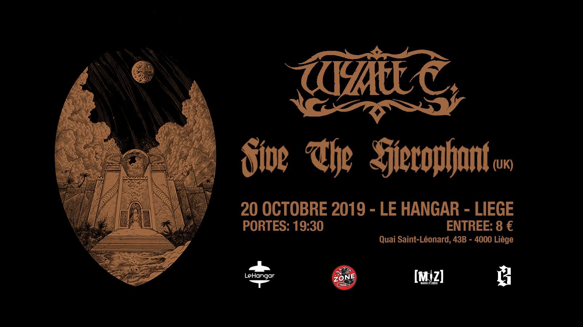 Concert | Wyatt E. & Five The Hierophant / 20 octobre 19h30