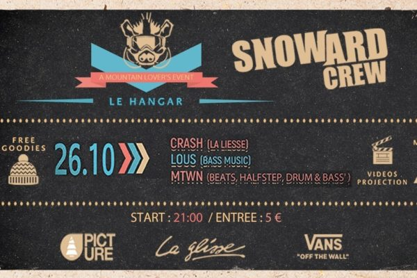 DJ's & Party | Snoward Party / 26 octobre 21h00