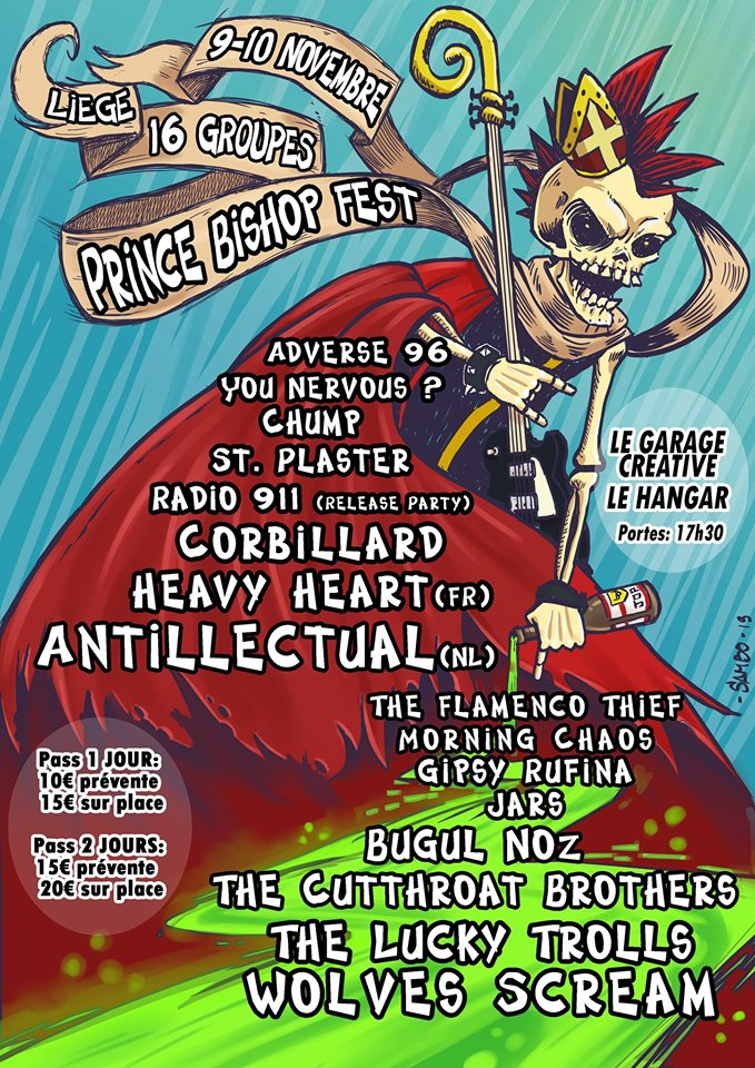 CONcerts | Prince Bishop Festival – 9 et 10 novembre
