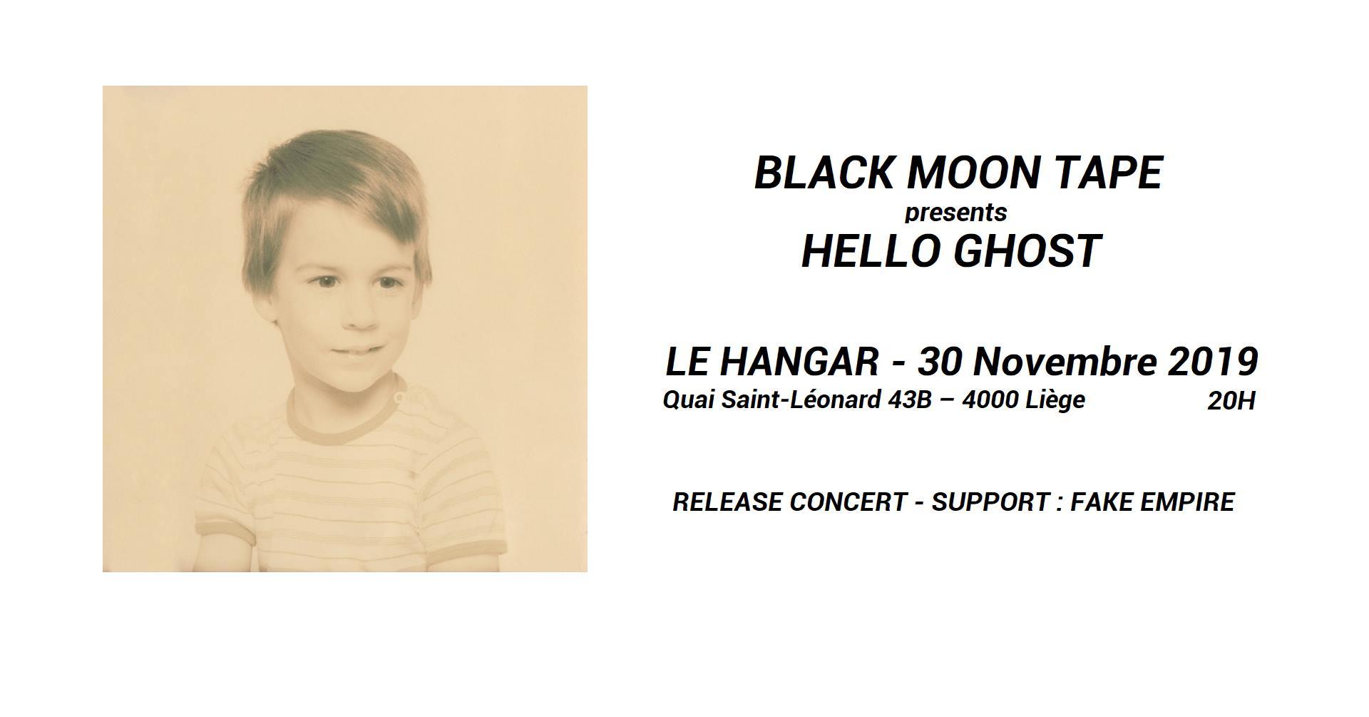 Concerts | Black Moon Tape // Release Concert / 30 novembre 20h00