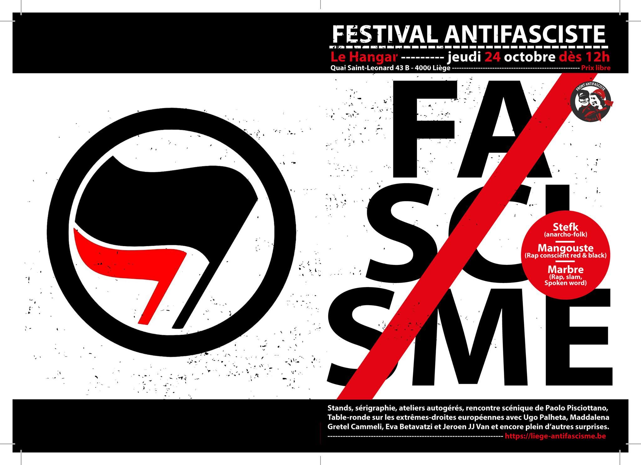 Rencontres & musique | Festival Antifasciste / 24 Octobre