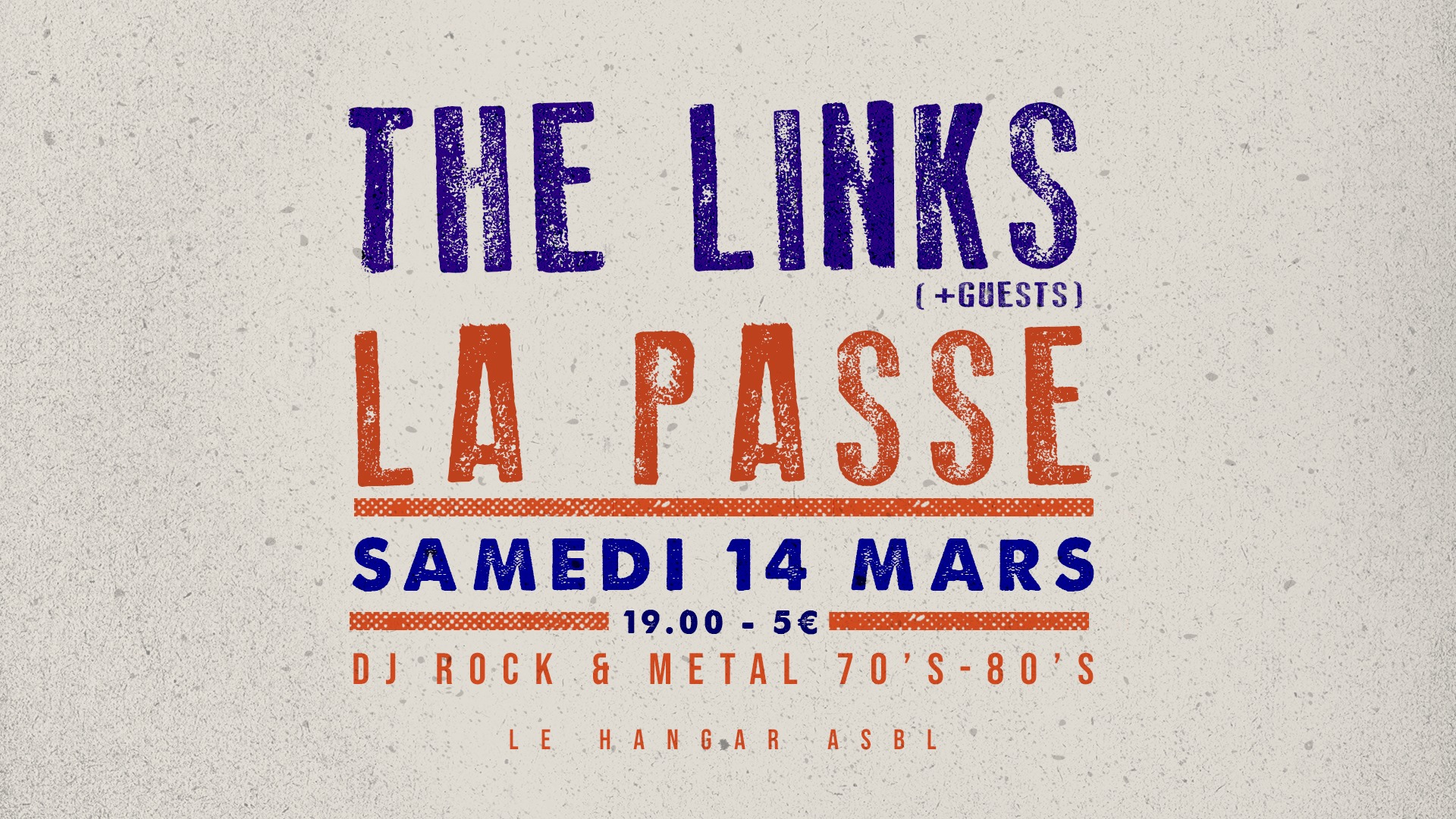 The Links + La Passe – 14/03